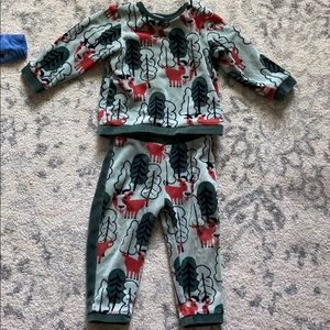 Velour kids play set